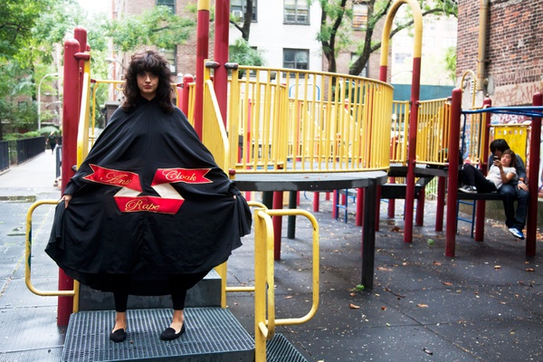 Sarah Maple, Playground Cloak, 2015